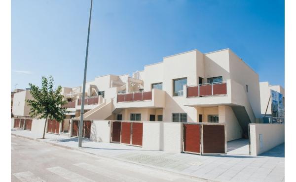 Nybyggd lägenhet i Torre de la Horadada med havsutsikt