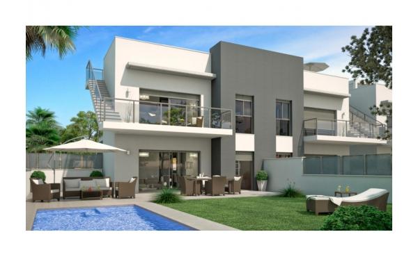 Nya, lyxiga lägenheter med privat pool i Rojales