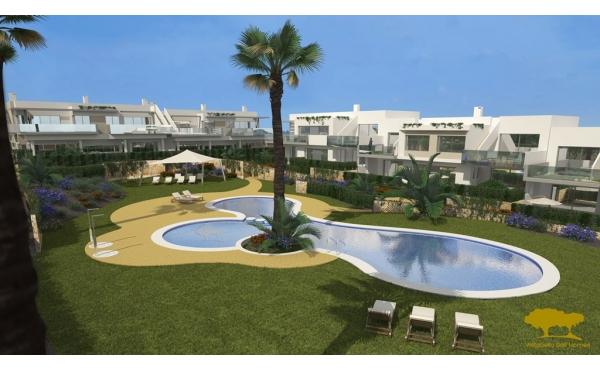 Nya, lyxiga lägenheter nära Vistabella Golf