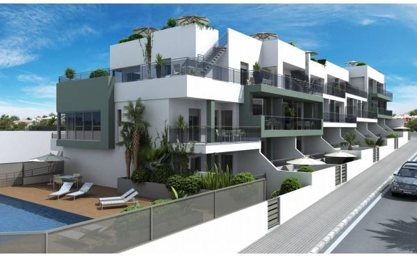 Nyproducerade lägenheter med ett fantastiskt Läge, Nära Stranden