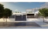 256, Duplex hus med garage