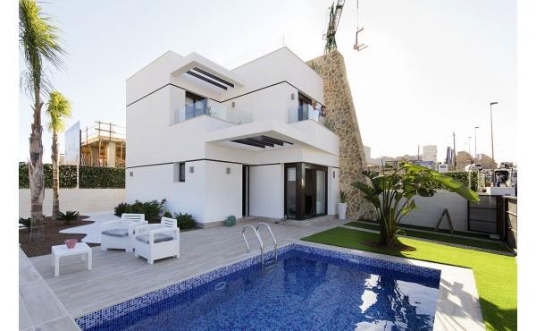 Modern villa i Villamartin