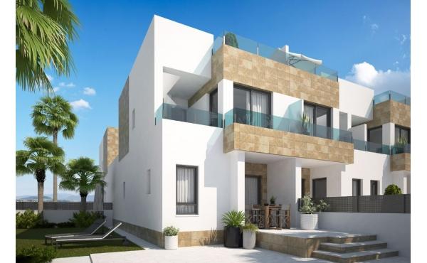 Modernt radhus i Villamartin