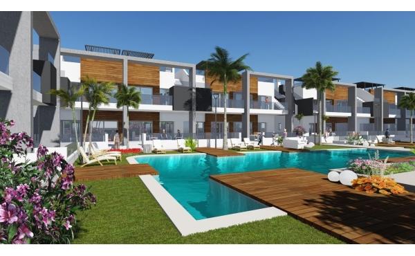 Nybyggd lägenhet nära Guardamar-stranden