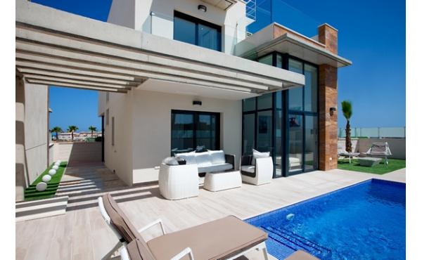 3 sovrum Villa med pool i Lomas de Cabo Roig