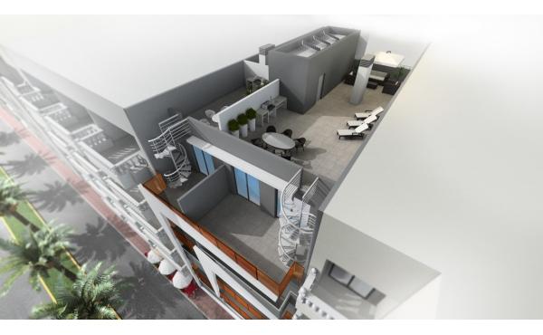 Nybyggda lägenheter nära stranden och alla bekvämligheter