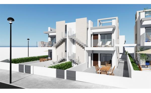 Modernt radhus nära stranden och allt du behöver