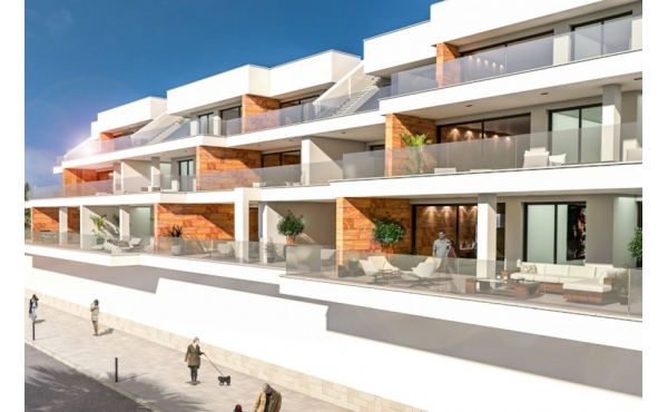 Modern lägenhet belägen mellan 3 golfbanor i Orihuela Costa