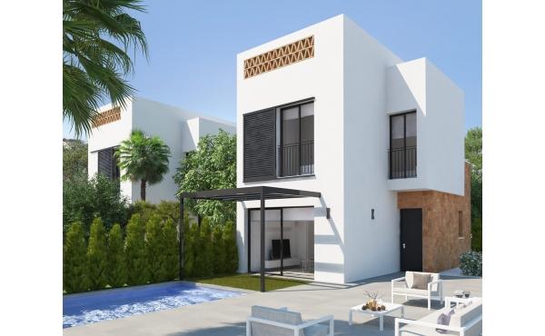 Moderne vrijstaande villa's te koop