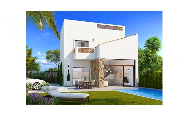 Modern fantastisk villa nära alla bekvämligheter