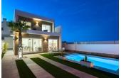 367, Brand New Detached Villas For Sale in Pilar de la Horadada