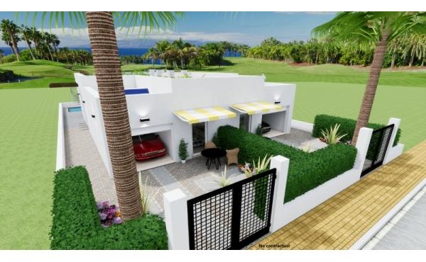 Helt ny tomt villa i Los Alcazares