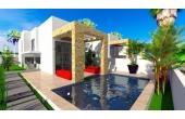 383, Lyxig villa med privat pool nära stranden