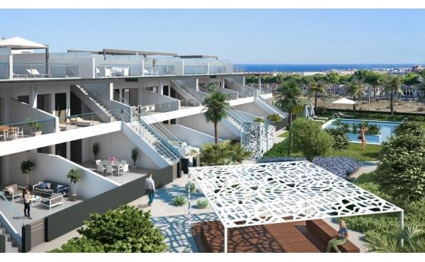 Fabulous helt nya bottenvåningen Lägenheten ligger i Villamartin