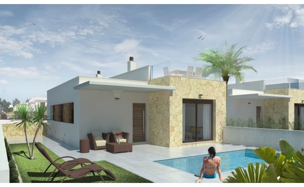 Moderna 2 sovrum och 2 badrum lyxvillor med privat pool
