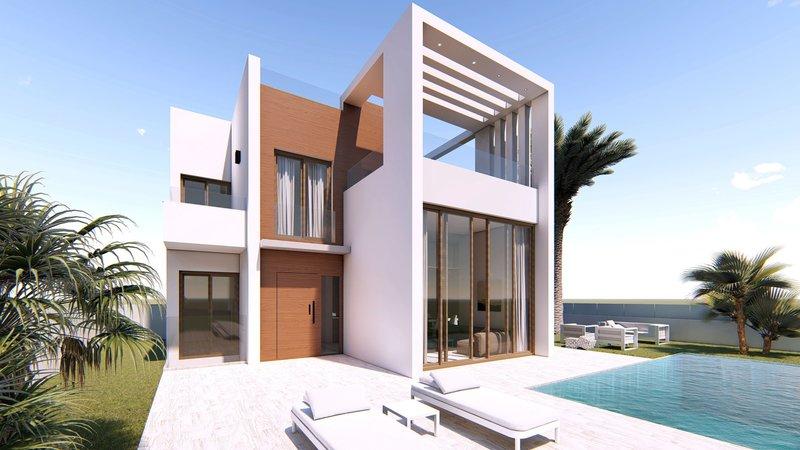 Luxuriöses Brandneues Wohnhaus Mit 24 Modernen Villen