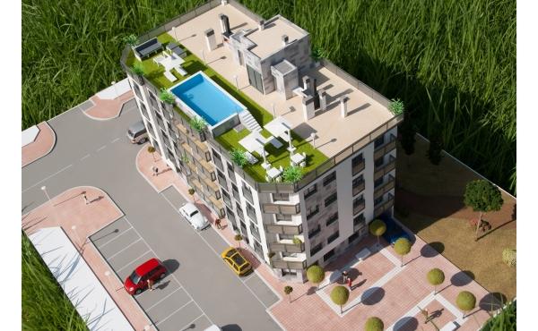 Nya lansering lägenheter - fantastisk utsikt över stränderna och kusten