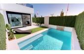 413, Moderna villaer med privata pooler med fantastisk utsikt över stränderna och golfbanan